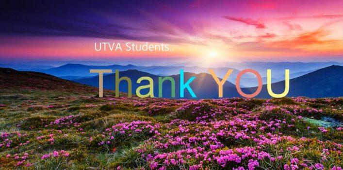 Students Thankful